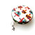 Measuring Tape with Rainbow Mushrooms Small Retractable Tape Measure
