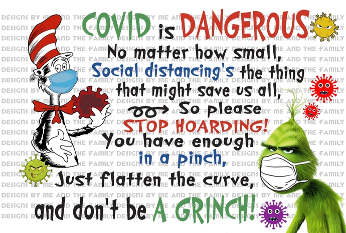 Covid is dangerous, no matter how small, social distancing's the thing that