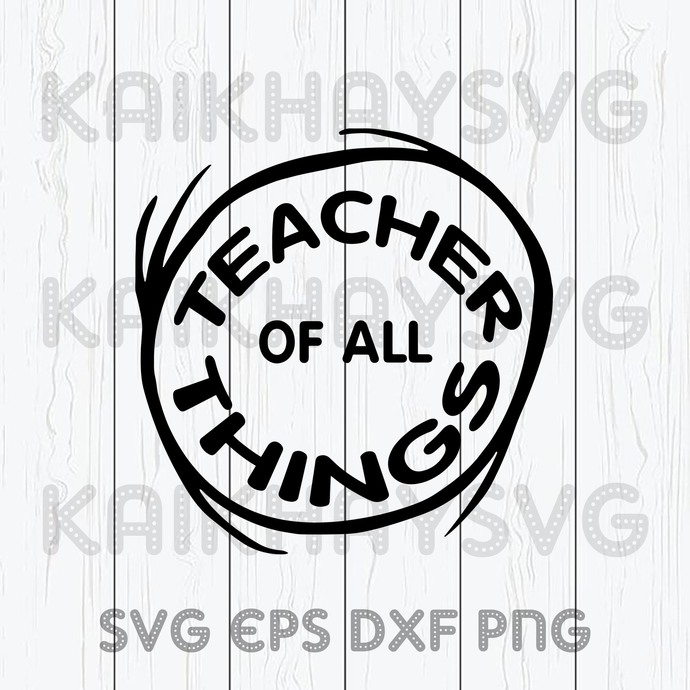 Teacher Of All Things SVG, Teacher Strong SVG, Class Of 2020 SVG, Teacher