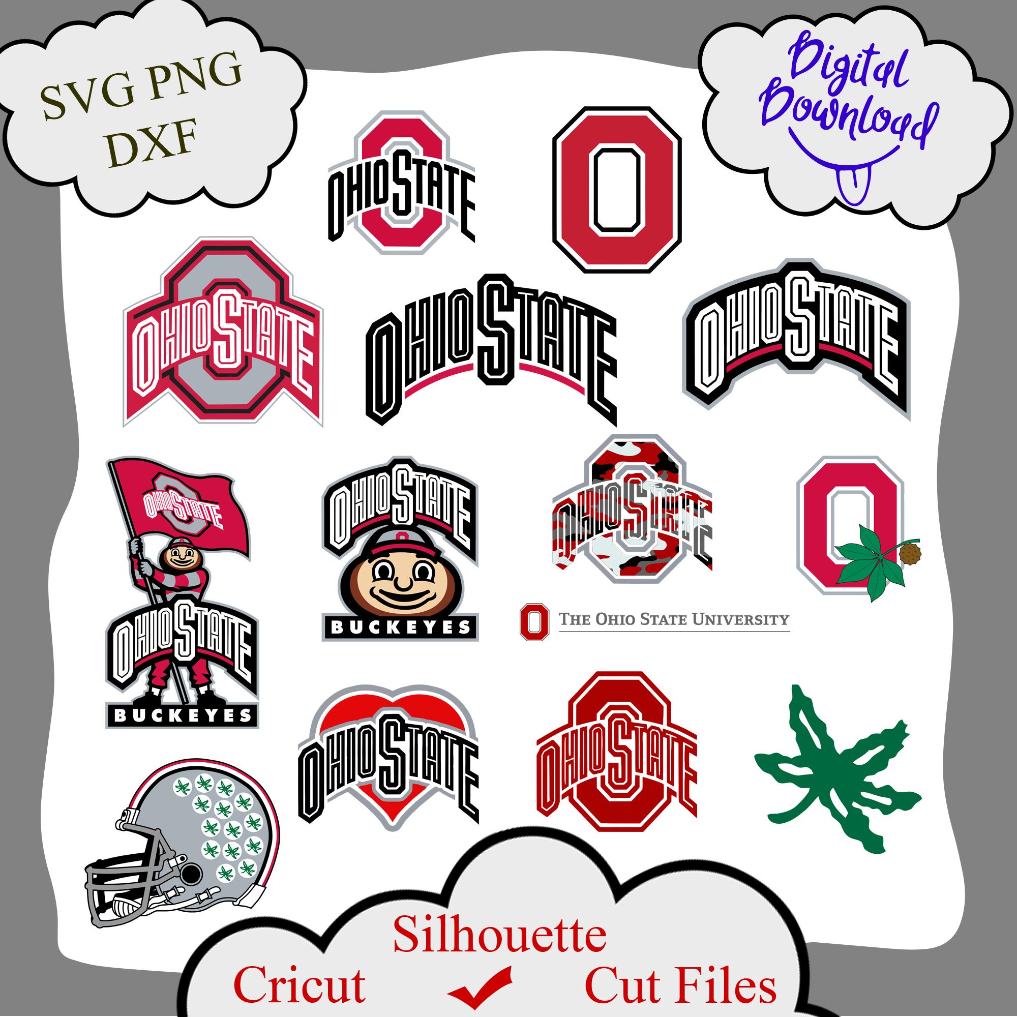 Ohio State Buckeyes Logo Bundle Ohio State By Littemom Shop On Zibbet