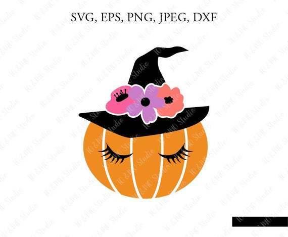 Pumpkin Witch Svg Halloween Pumpkin Svg By Owensvgstore On Zibbet