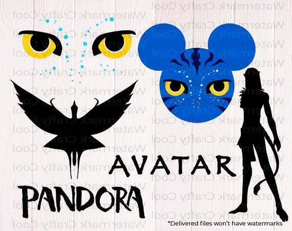Avatar SVG bundle, Pandora world svg, Pandora avatar svg, clipart, cutfiles,