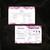 Personalized Monat Bundle, Marble Custom Monat Cards, Monat Marketing Set, Monat