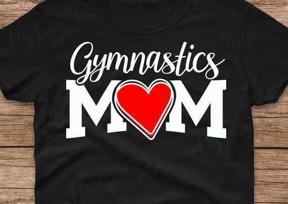 Gymnastics Mom Svg Gymnastics Svg Mom By Baumbach Store On Zibbet