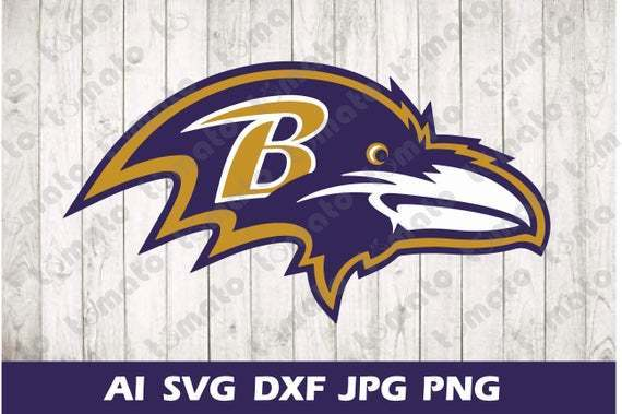 Baltimore Ravens Nfl Football Logo Svg By Football Svg Files On Zibbet