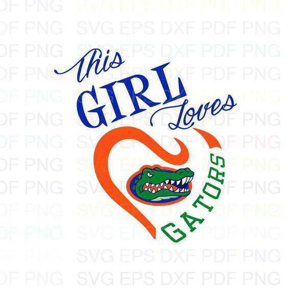 Florida Gators NCAA Football 11 Svg Dxf Eps Pdf Png, Cricut, Cutting file,