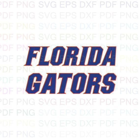 Florida Gators NCAA Football 12 Svg Dxf Eps Pdf Png, Cricut, Cutting file,
