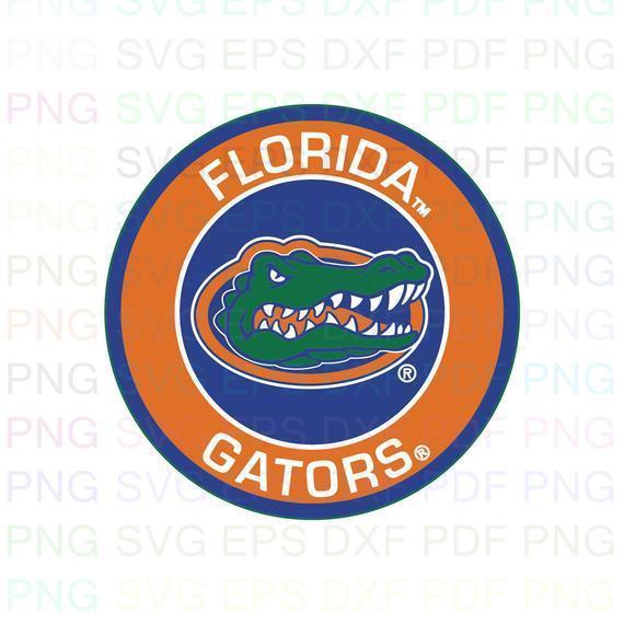 Florida Gators NCAA Football 6 Svg Dxf Eps Pdf Png, Cricut, Cutting file,