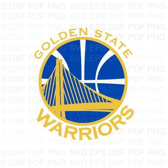 Golden State Warriors NBA 8 Svg Dxf Eps Pdf Png, Cricut, Cutting file, Vector,