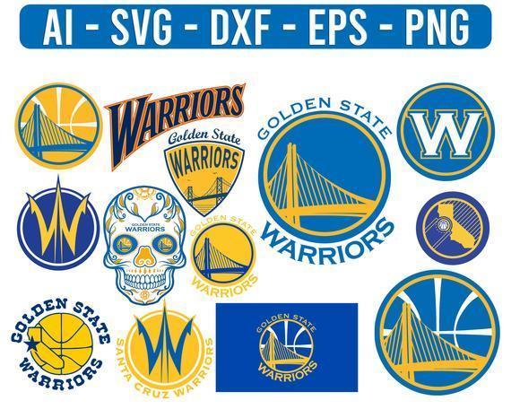 Golden State warriors NBA Sport Team Logo Basketball SVG cut file for cricut