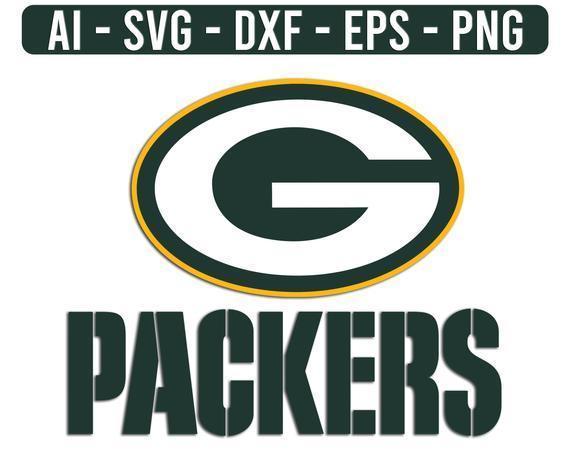 Green Bay Packers Logo NFL Football Svg,  cut file for cricut files Clip Art