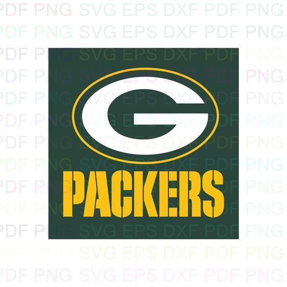 Green Bay Packers NFL 1 Svg Dxf Eps Pdf Png, Cricut, Cutting file, Vector,