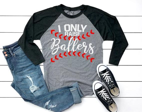 I Only Raise Ballers Svg Baseball Svg By Football Svg Files On
