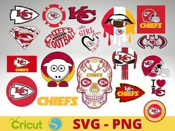 Kansas city Chiefs bundle svg  Kansas city Chiefs team svg  Kansas city Chiefs