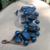 Handmade Beaded Copper Ladder Bracelet