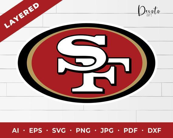 Nfl San Francisco 49ers Logo Svg 49ers By Football Svg Files On