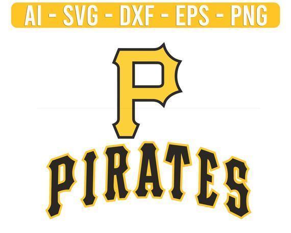Pittsburgh Pirates Logo MLB Baseball SVG sport cut file for cricut files Clip