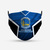 Golden State Warriors Style 4 Face Mask, Adult Face Mask, Sport Face Mask,