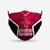 Houston Rockets Style 4 Face Mask, Adult Face Mask, Sport Face Mask, Reusable