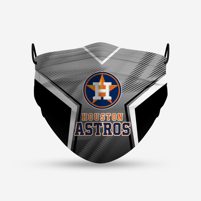 Houton Astros 4 Face Mask, Adult Face Mask, Sport Face Mask, Reusable Face Mask,
