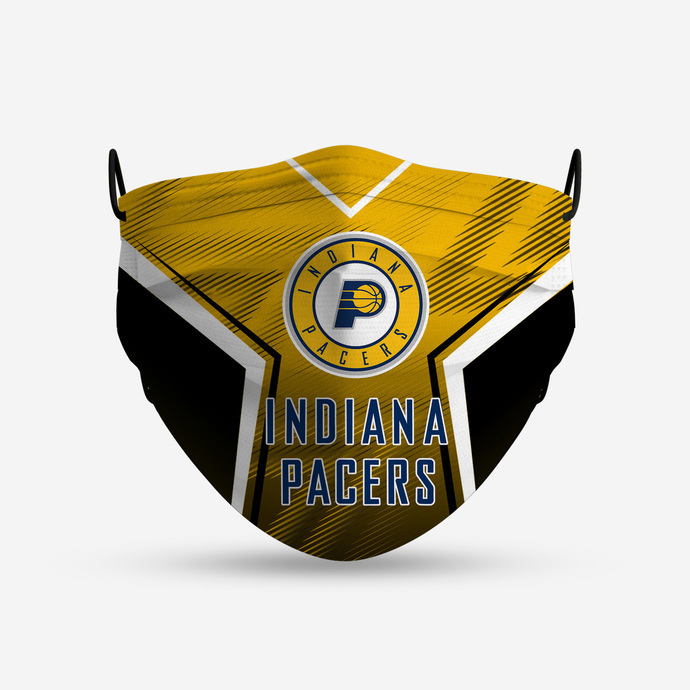 Indiana Pacers Style 4 Face Mask, Adult Face Mask, Sport Face Mask, Reusable