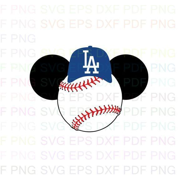 Los Angeles Dodgers MLB 21 Svg Dxf Eps Pdf Png, Cricut, Cutting file, Vector,