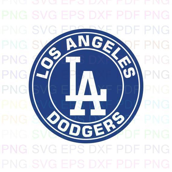 Los Angeles Dodgers MLB 6 Svg Dxf Eps Pdf Png, Cricut, Cutting file, Vector,
