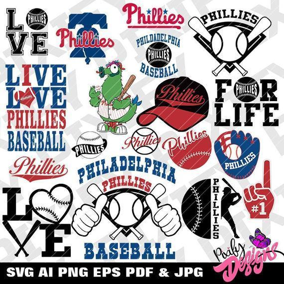 Philadelphia Phillies svg, B1,  Phillies svg  Philadelphia Phillies  Phillies