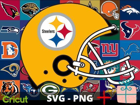 Pittsburgh Steelers SVG and PNG  NFL Logo Cricut Football Cut Files Digital