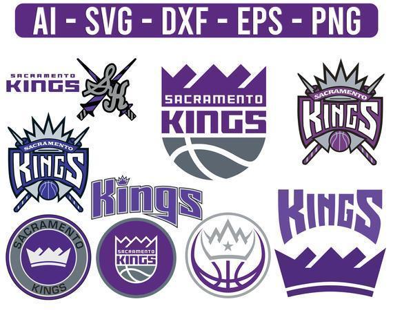 Sacramento Kings NBA Sport Team Logo Basketball SVG cut file for cricut files