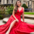 Red Prom Dress,A-Line Prom Gown,Satin Evening Dress,A-Line Prom Gown 0235