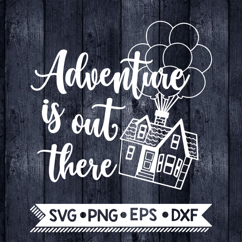 Adventure Is Out There Svg Up Svg Hot Air By Enchantedsvg On Zibbet