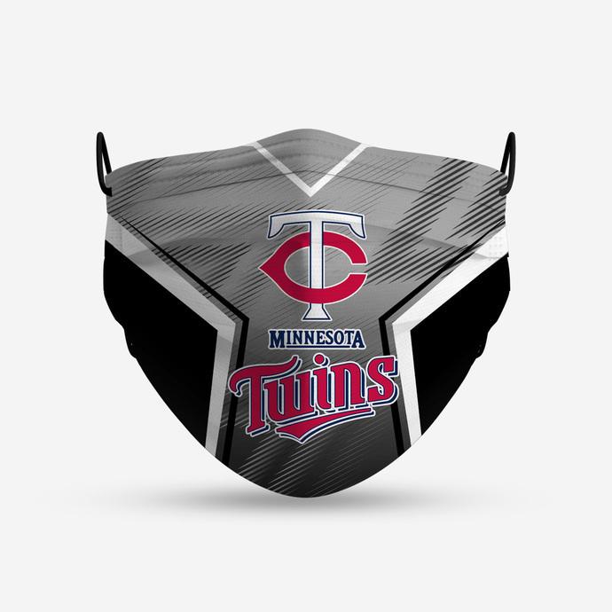 Minnesota Twins Style 5 Face Mask, Adult Face Mask, Sport Face Mask, Reusable