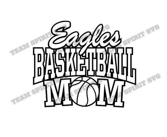 Download Basketball Mom – Svg, Dxf, Eps Cut File Design