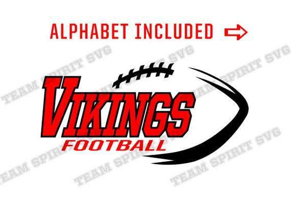 Viking Football Svg Football Outline By Football Svg Files On Zibbet