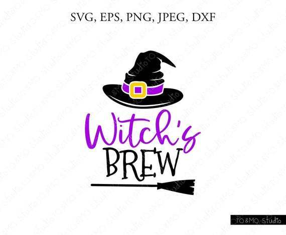 Witch Svg Witch S Brew Svg Halloween Svg By Baumbach Store On Zibbet