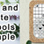 Bell By The River Cross Stitch Pattern***LOOK***X***INSTANT DOWNLOAD***