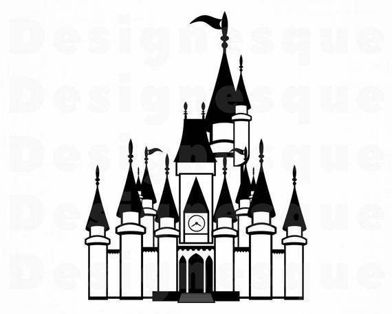 Get Castle Svg / Dxf / Eps Files Crafter Files