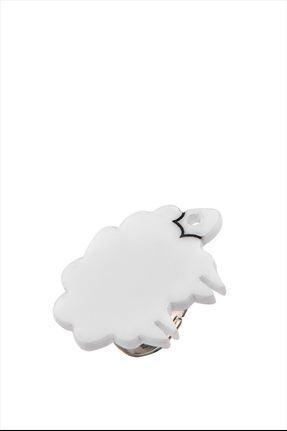 Lamb Ring,Plexiglass Jewelry,Lasercut Acrylic,Gifts Under 25