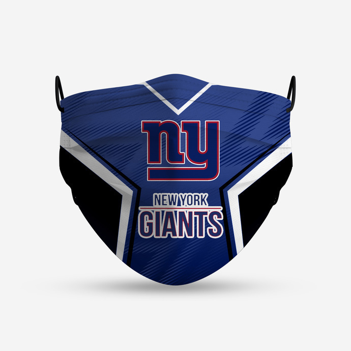 New York Giants Style 4 Face Mask, Adult Face Mask, Sport Face Mask, Reusable