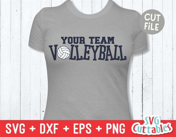 Volleyball Svg Volleyball Cut File Svg Eps By Walkergoody On Zibbet
