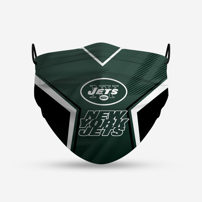 New York Jets Style 4 Face Mask, Adult Face Mask, Sport Face Mask, Reusable Face