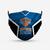 New York Knicks Style 4 Face Mask, Adult Face Mask, Sport Face Mask, Reusable