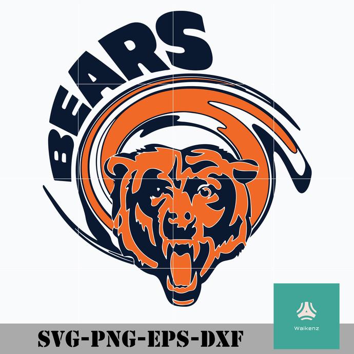Bears Logo Svg Bears Svg Chicago Bears Svg By Zonestore On Zibbet
