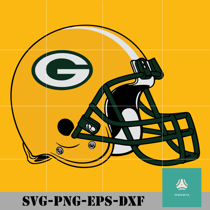 Packers Helmet Logo Svg Green Bay Packers Svg By Zonestore On Zibbet