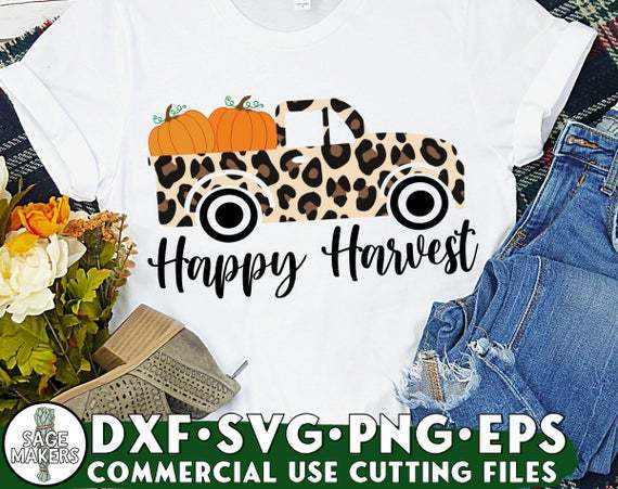 Fall Truck Svg Fall Svg Files For Cricut By Customizedsvg On Zibbet