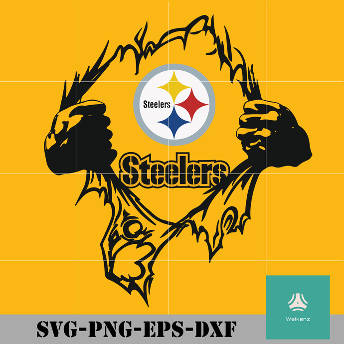 Superman Steelers Logo Svg Pittsburgh Steelers By Zonestore On Zibbet