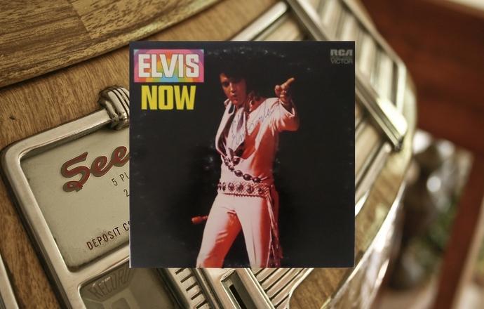 Elvis Presley now signed LP