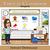 Virtual Classroom Easy Editable Template, Add your Bitmoji and Links