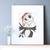 #196 Christmas Jack Modern Cross Stitch Pattern, Merry Christmas card, horror